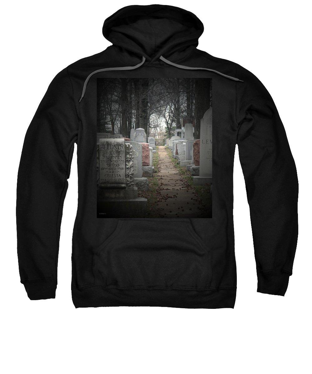 Cemetary Sweatshirt featuring the photograph Closure by Albert Stewart