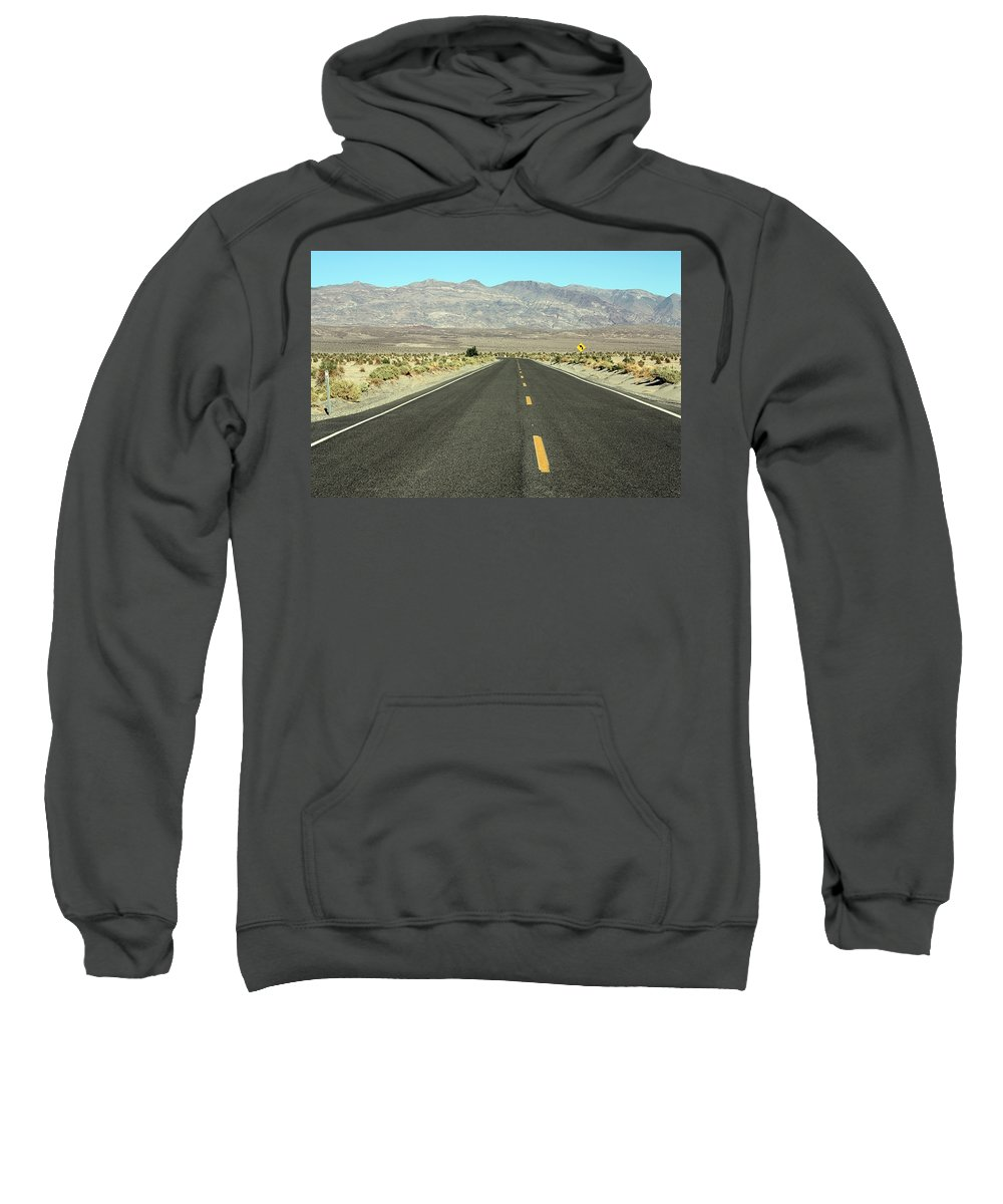 Landscape Sweatshirt featuring the photograph Middle Of Nowhere by Erin Rosenblum