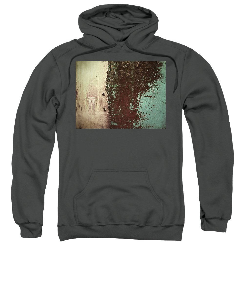 Texture Sweatshirt featuring the photograph Patient Whispers by Tara Turner