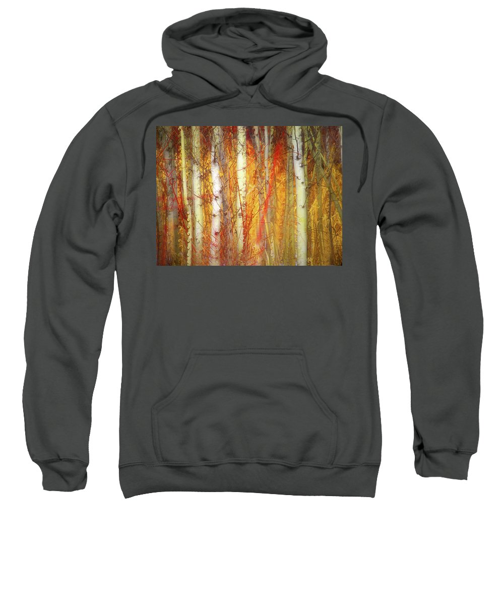 Trees Sweatshirt featuring the photograph Strange Forest by Tara Turner