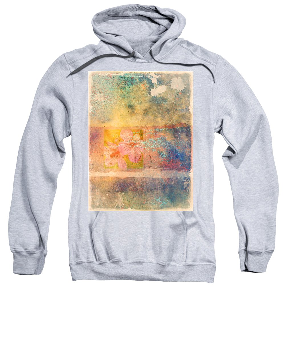Fowers Sweatshirt featuring the photograph Flowers From My Childhood by Tara Turner