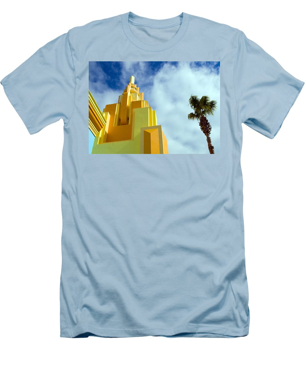 Cocoa; Beach; Florida; Brevard; East; Space; Coast; Ron; Jon; Surf; Shop; Surfing; Surfer; Waves; Br Men's T-Shirt (Athletic Fit) featuring the photograph Ron Jon Cocoa Beach Florida by Allan Hughes