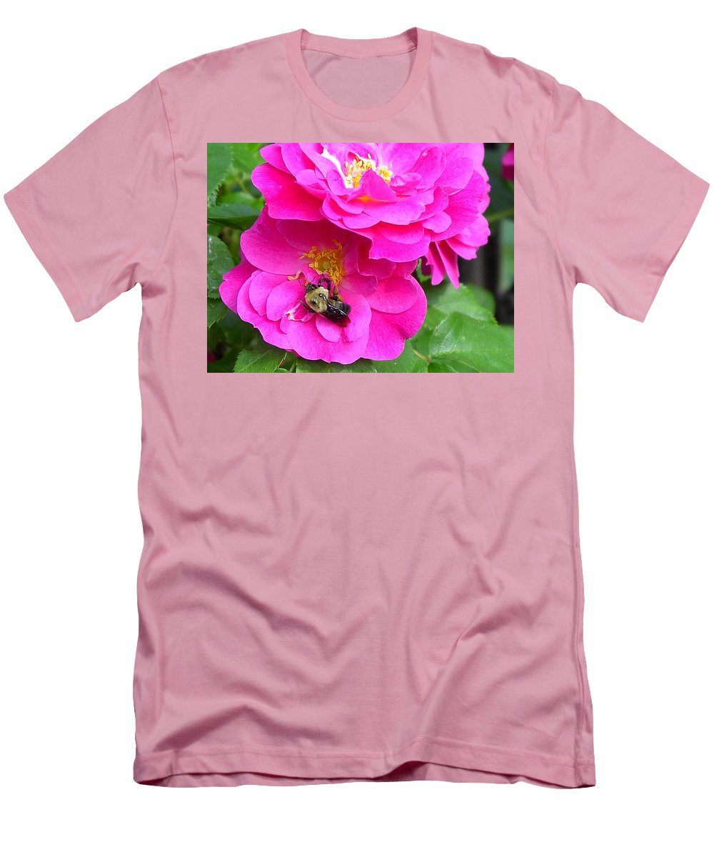 Charity Men's T-Shirt (Athletic Fit) featuring the photograph Jc And Bee by Mary-Lee Sanders