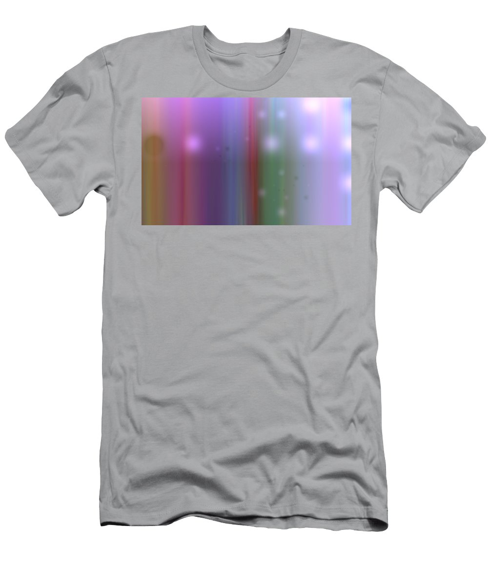 Art Digital Art Men's T-Shirt (Athletic Fit) featuring the digital art Colour12mlv - Impression by Alex Porter