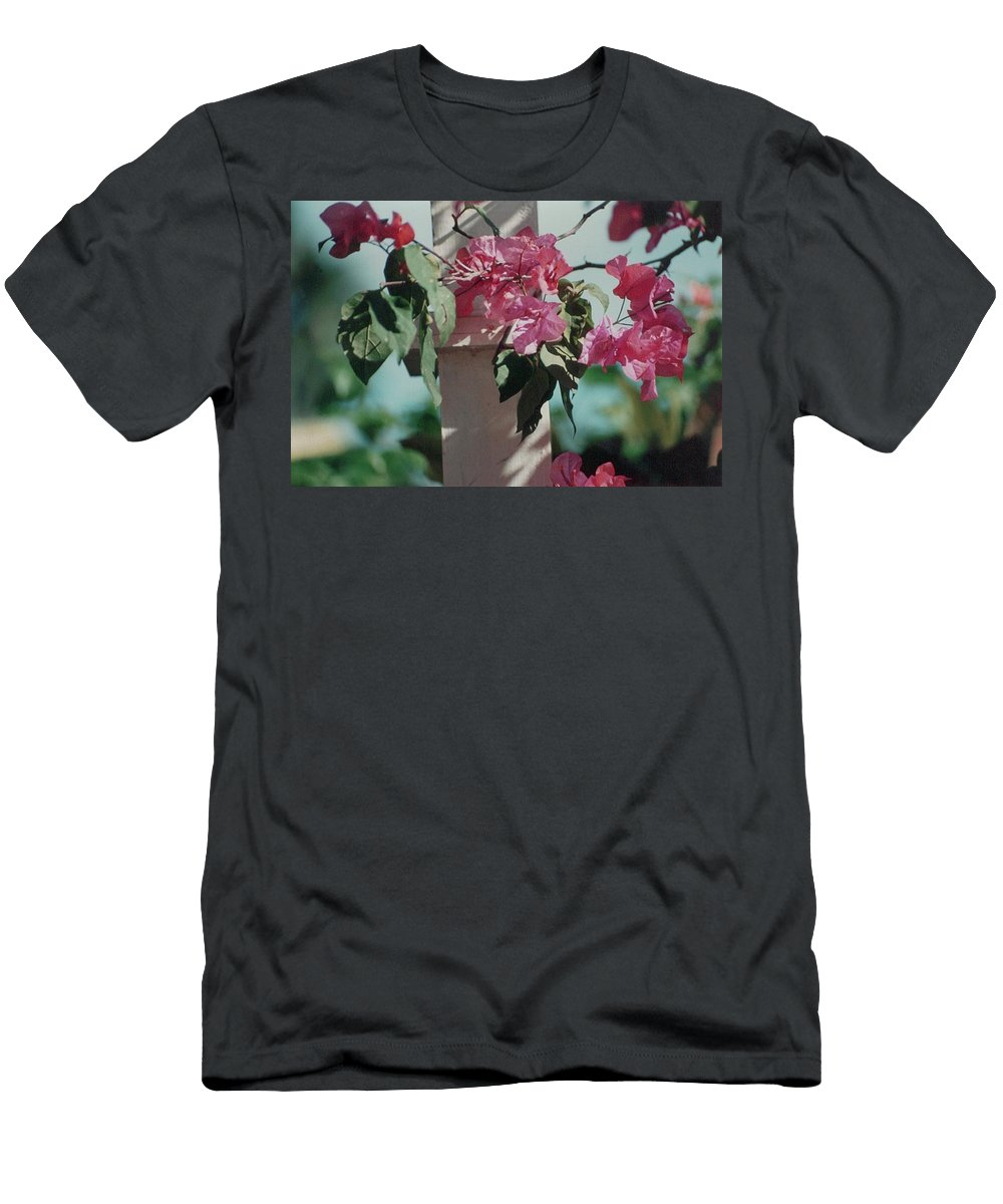 Charity Men's T-Shirt (Athletic Fit) featuring the photograph Bouganvillea by Mary-Lee Sanders