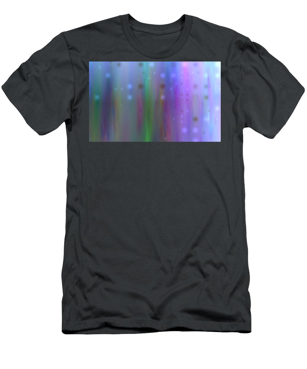 Art Digital Art Men's T-Shirt (Athletic Fit) featuring the digital art Colour4mlv - Impressions by Alex Porter