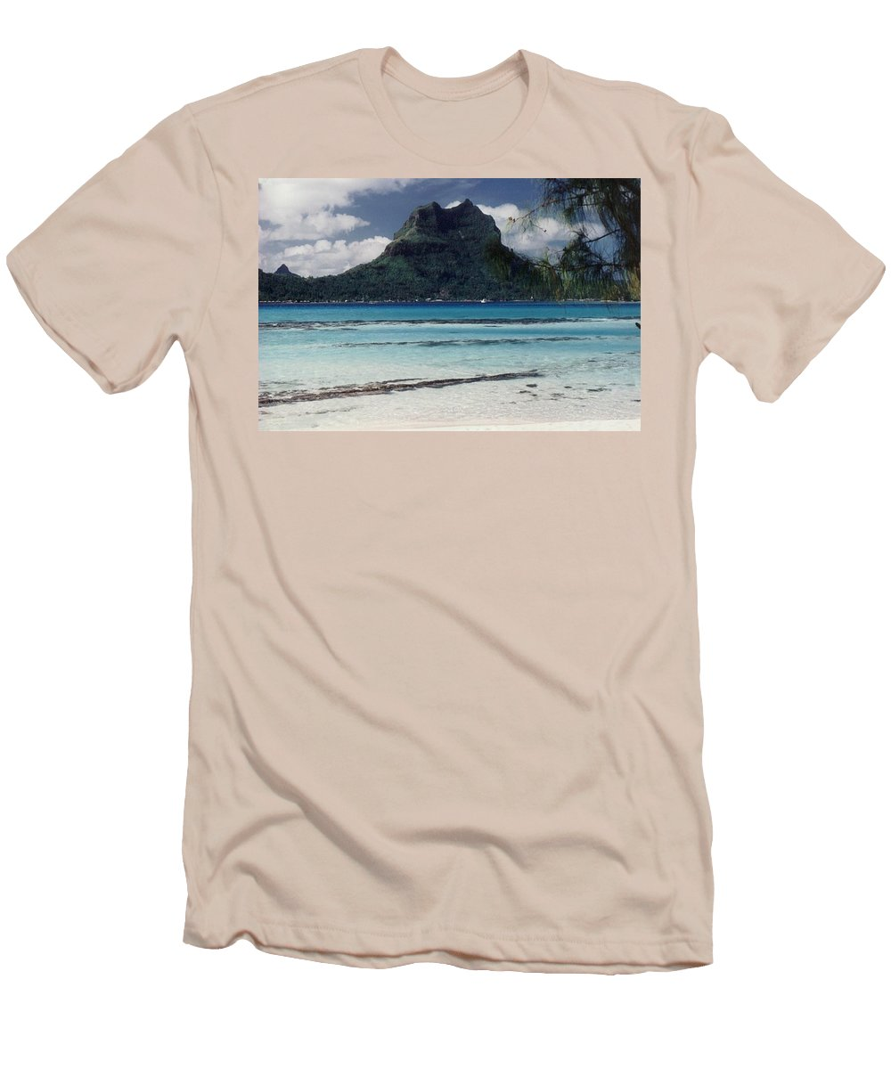 Charity Men's T-Shirt (Athletic Fit) featuring the photograph Bora Bora by Mary-Lee Sanders