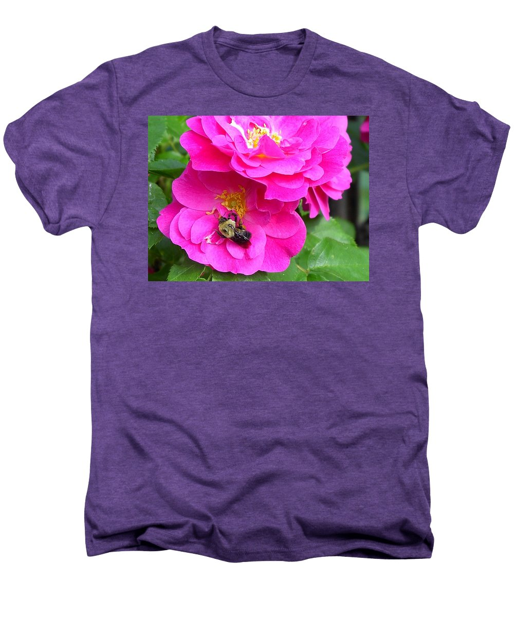Charity Men's Premium T-Shirt featuring the photograph Jc And Bee by Mary-Lee Sanders