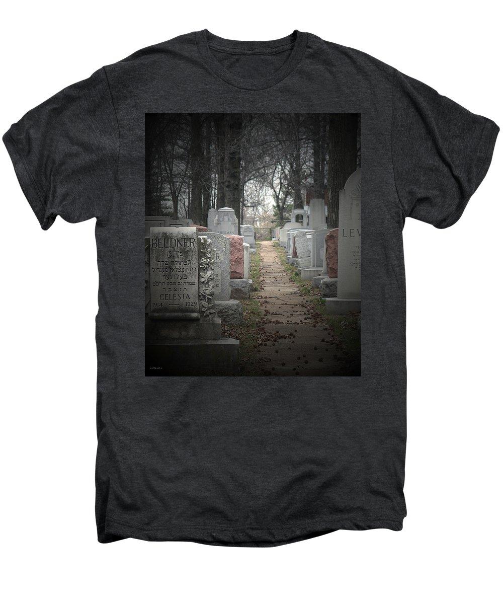 Cemetary Men's Premium T-Shirt featuring the photograph Closure by Albert Stewart