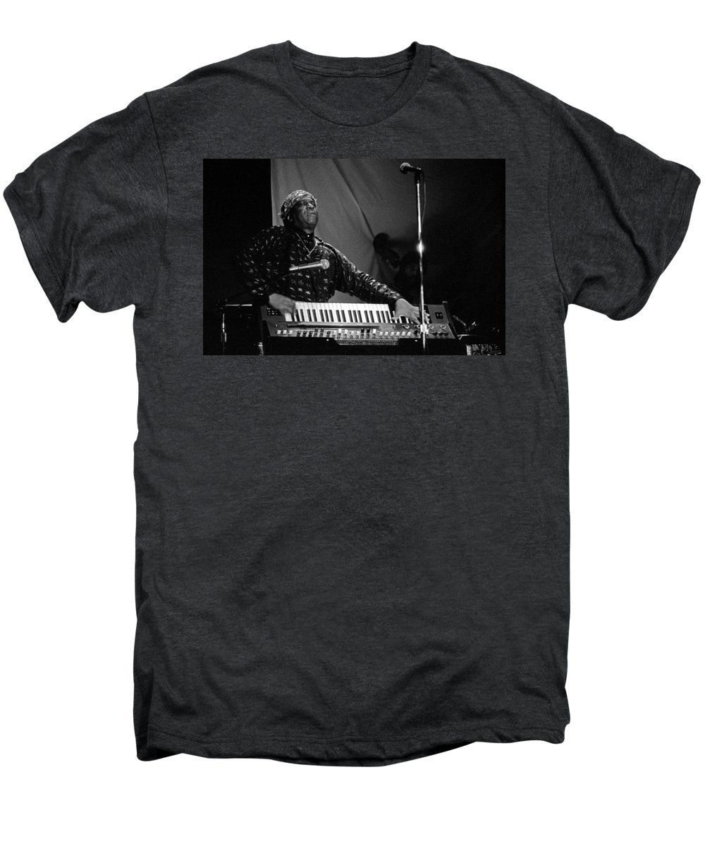 Sun Ra Men's Premium T-Shirt featuring the photograph Sun Ra 1 by Lee Santa