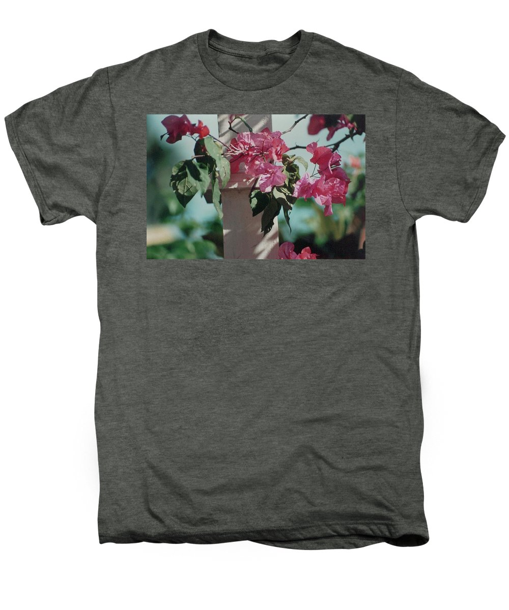 Charity Men's Premium T-Shirt featuring the photograph Bouganvillea by Mary-Lee Sanders