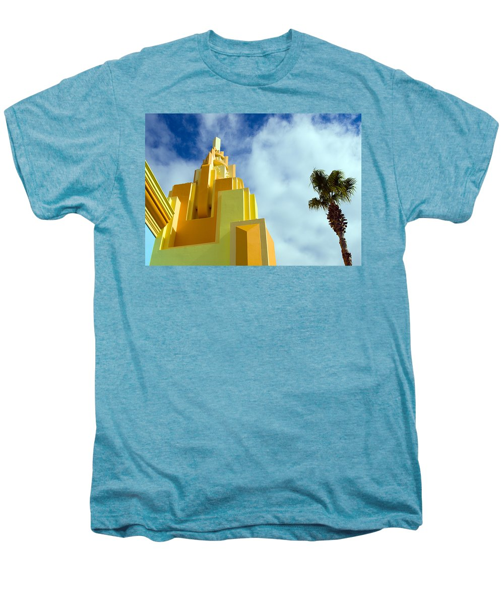 Cocoa; Beach; Florida; Brevard; East; Space; Coast; Ron; Jon; Surf; Shop; Surfing; Surfer; Waves; Br Men's Premium T-Shirt featuring the photograph Ron Jon Cocoa Beach Florida by Allan Hughes