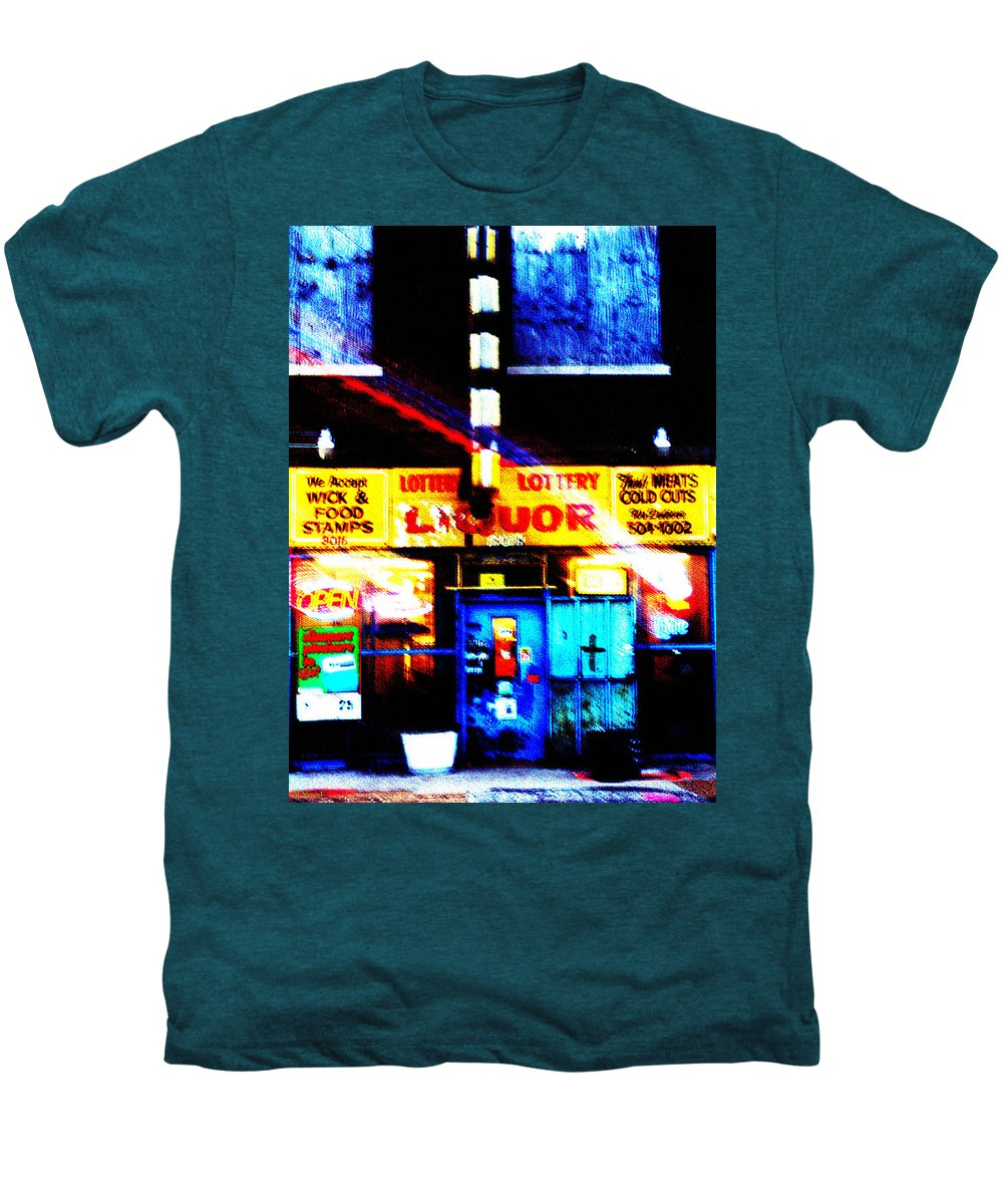 Store Men's Premium T-Shirt featuring the photograph Corner Store by Albert Stewart