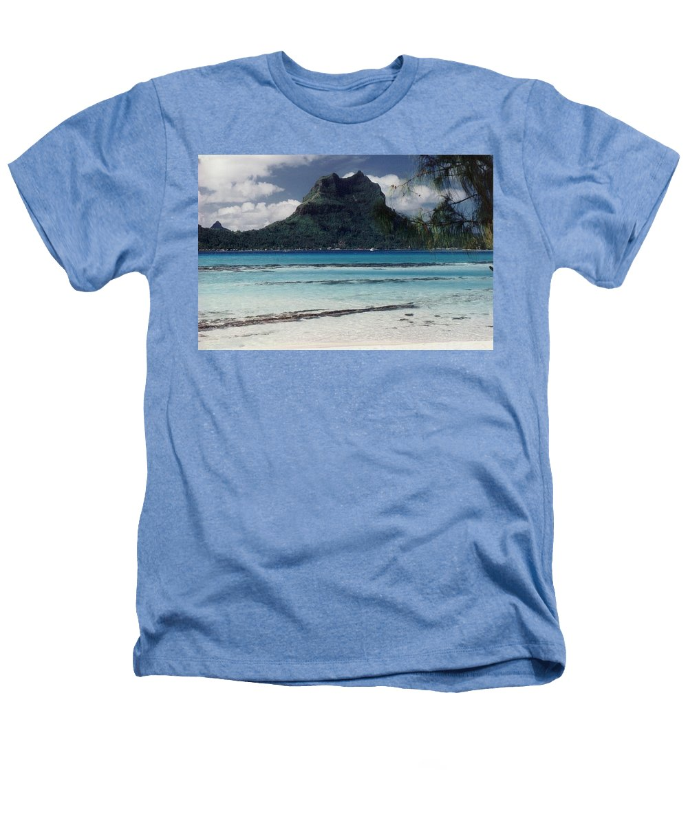 Charity Heathers T-Shirt featuring the photograph Bora Bora by Mary-Lee Sanders