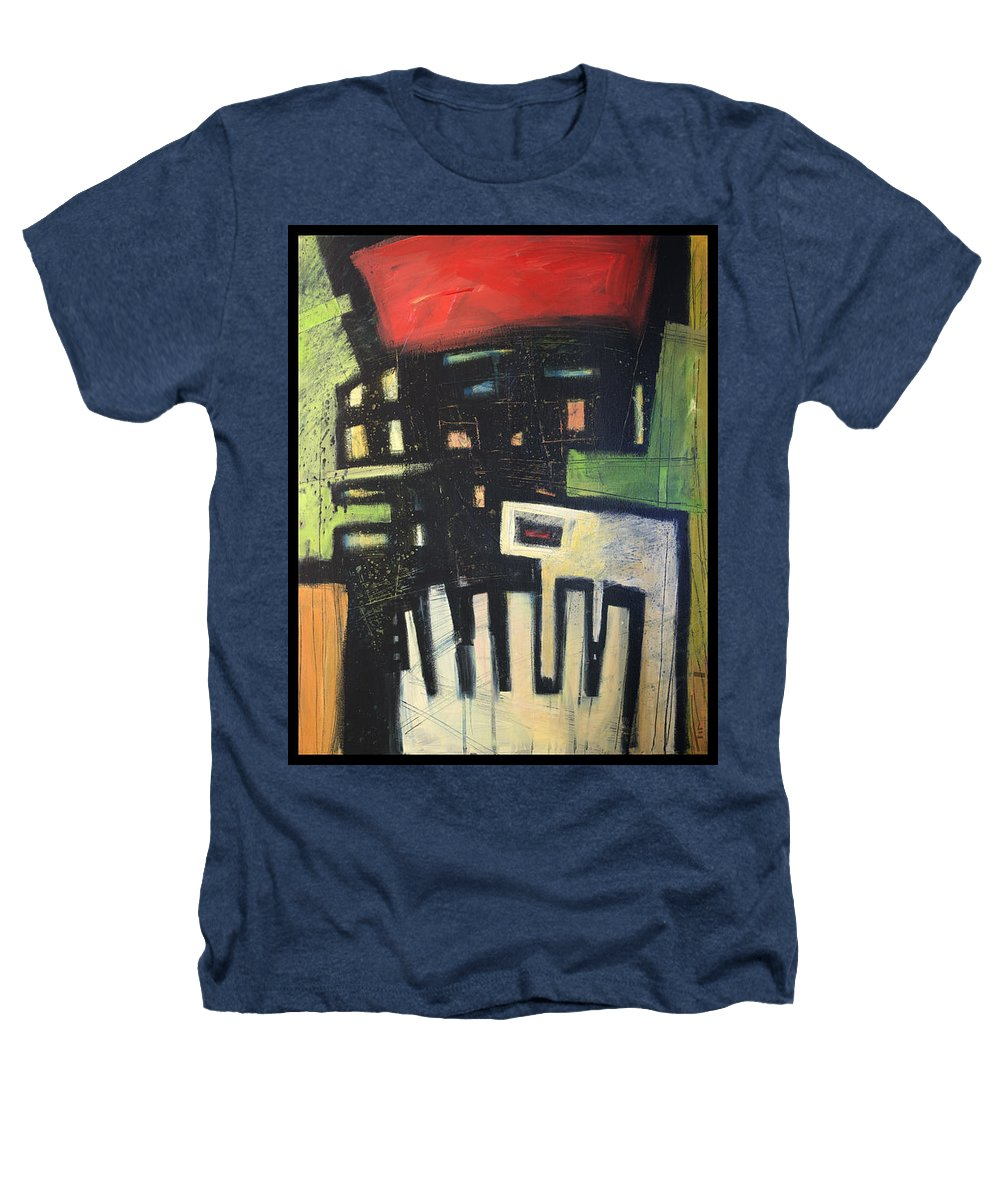 Abstract Heathers T-Shirt featuring the painting D Flat by Tim Nyberg