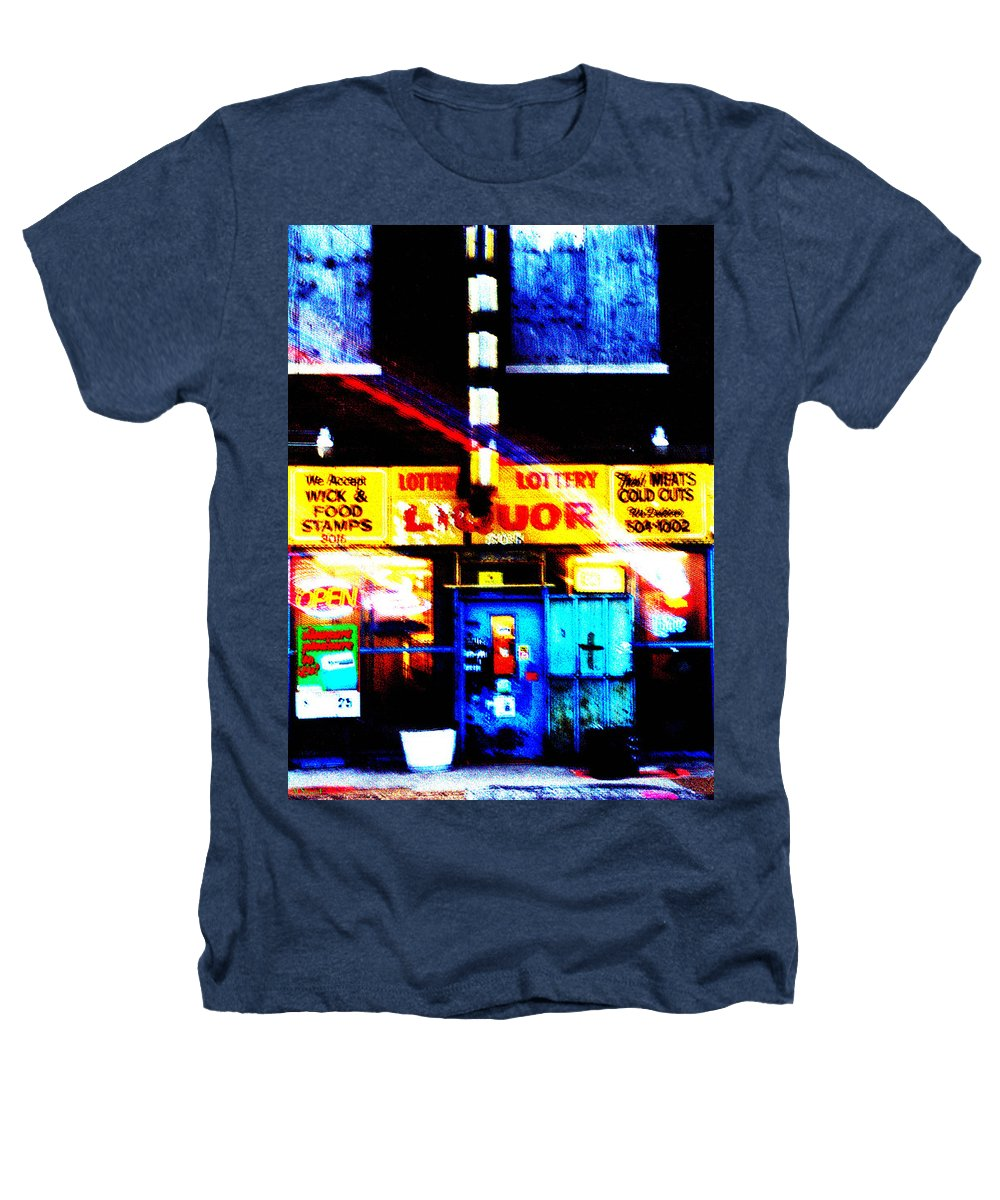 Store Heathers T-Shirt featuring the photograph Corner Store by Albert Stewart