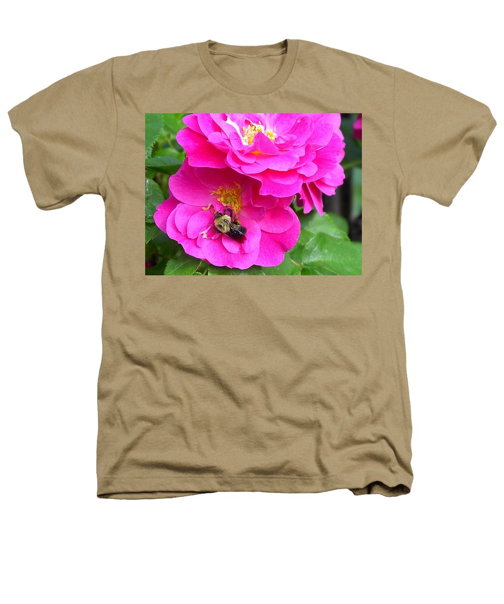 Charity Heathers T-Shirt featuring the photograph Jc And Bee by Mary-Lee Sanders