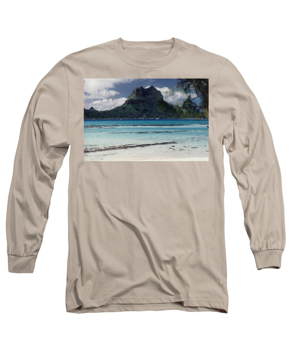Charity Long Sleeve T-Shirt featuring the photograph Bora Bora by Mary-Lee Sanders