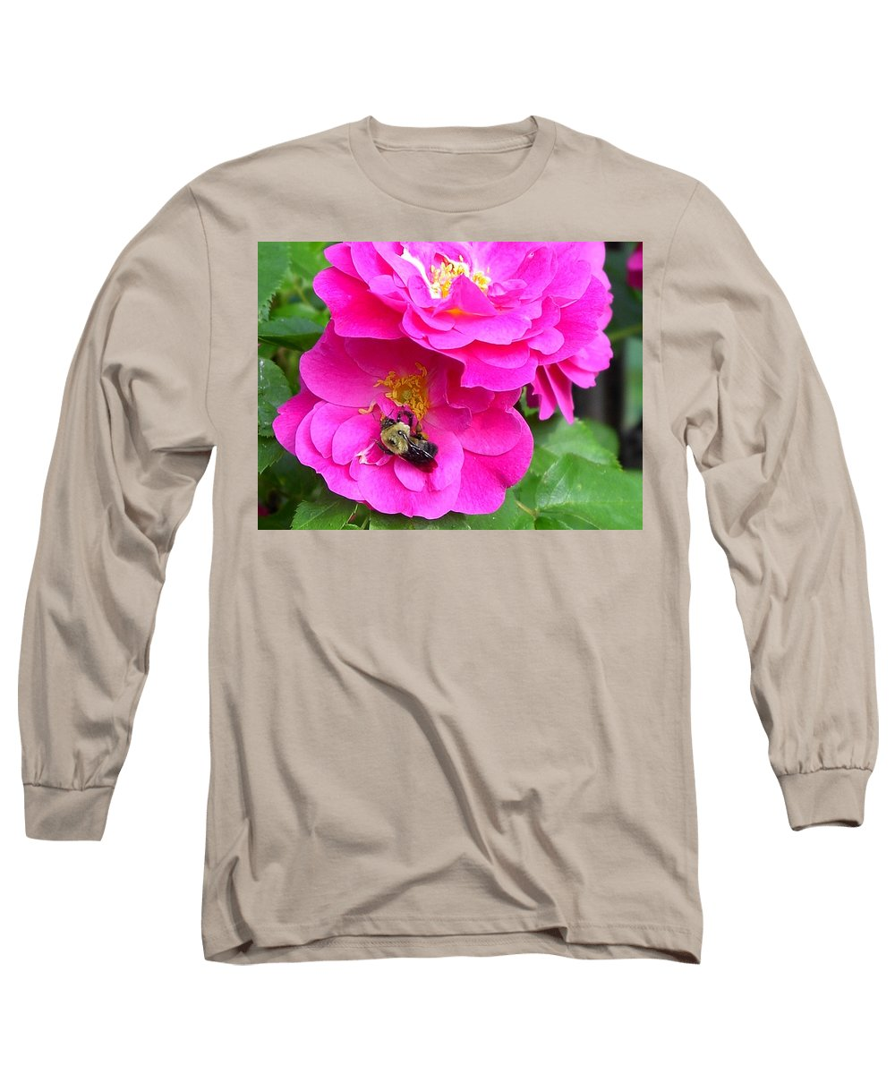 Charity Long Sleeve T-Shirt featuring the photograph Jc And Bee by Mary-Lee Sanders