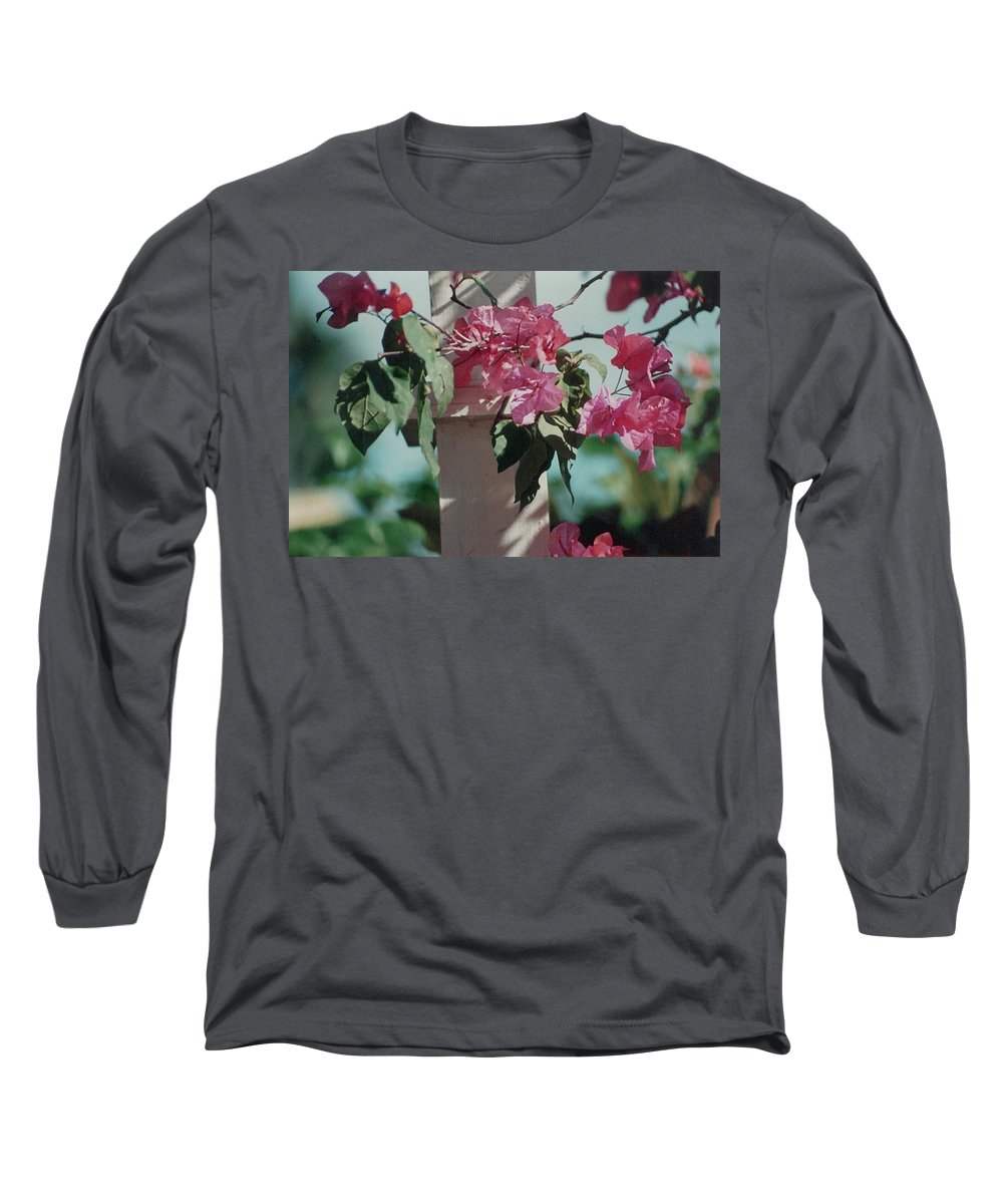 Charity Long Sleeve T-Shirt featuring the photograph Bouganvillea by Mary-Lee Sanders