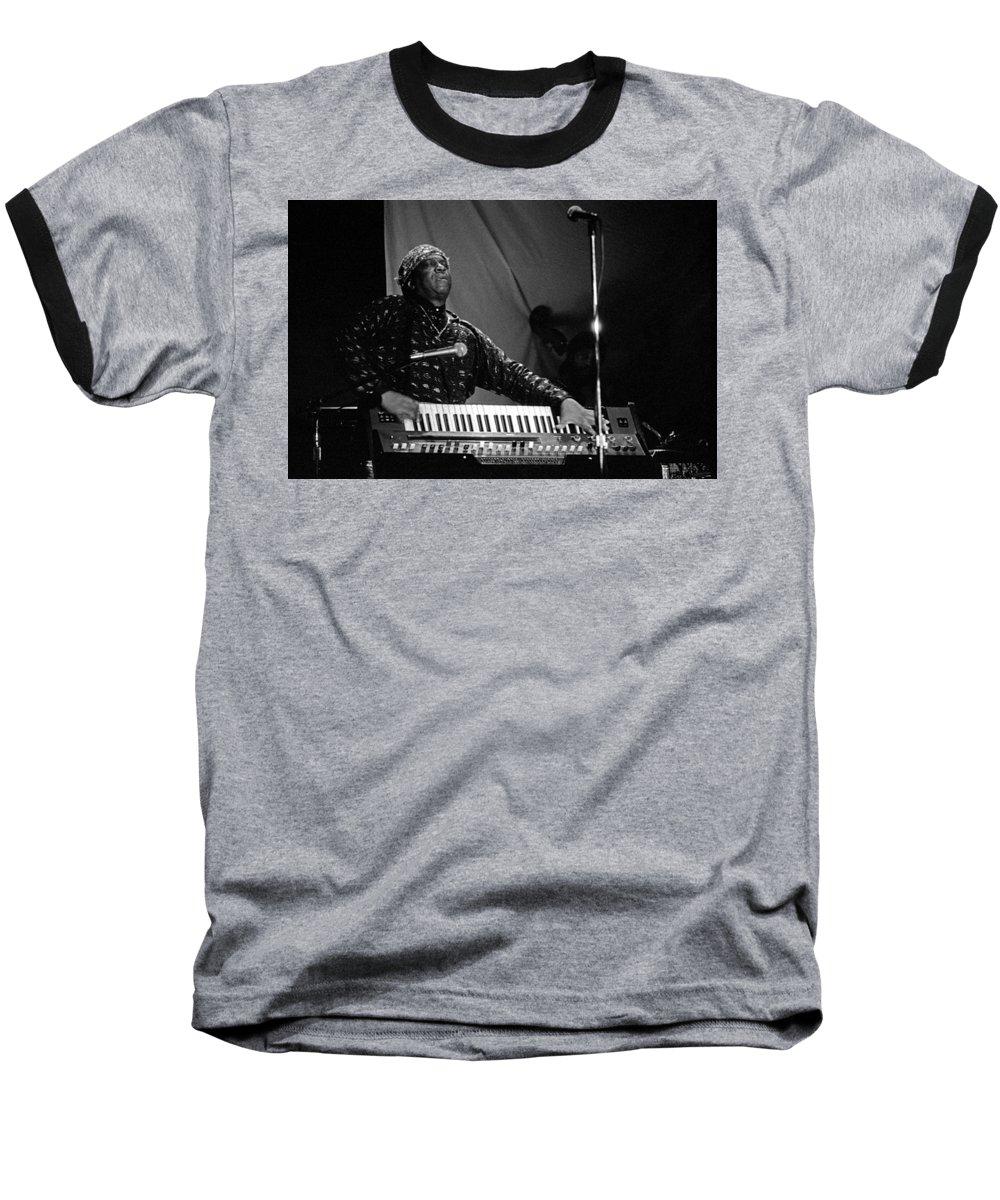 Sun Ra Baseball T-Shirt featuring the photograph Sun Ra 1 by Lee Santa