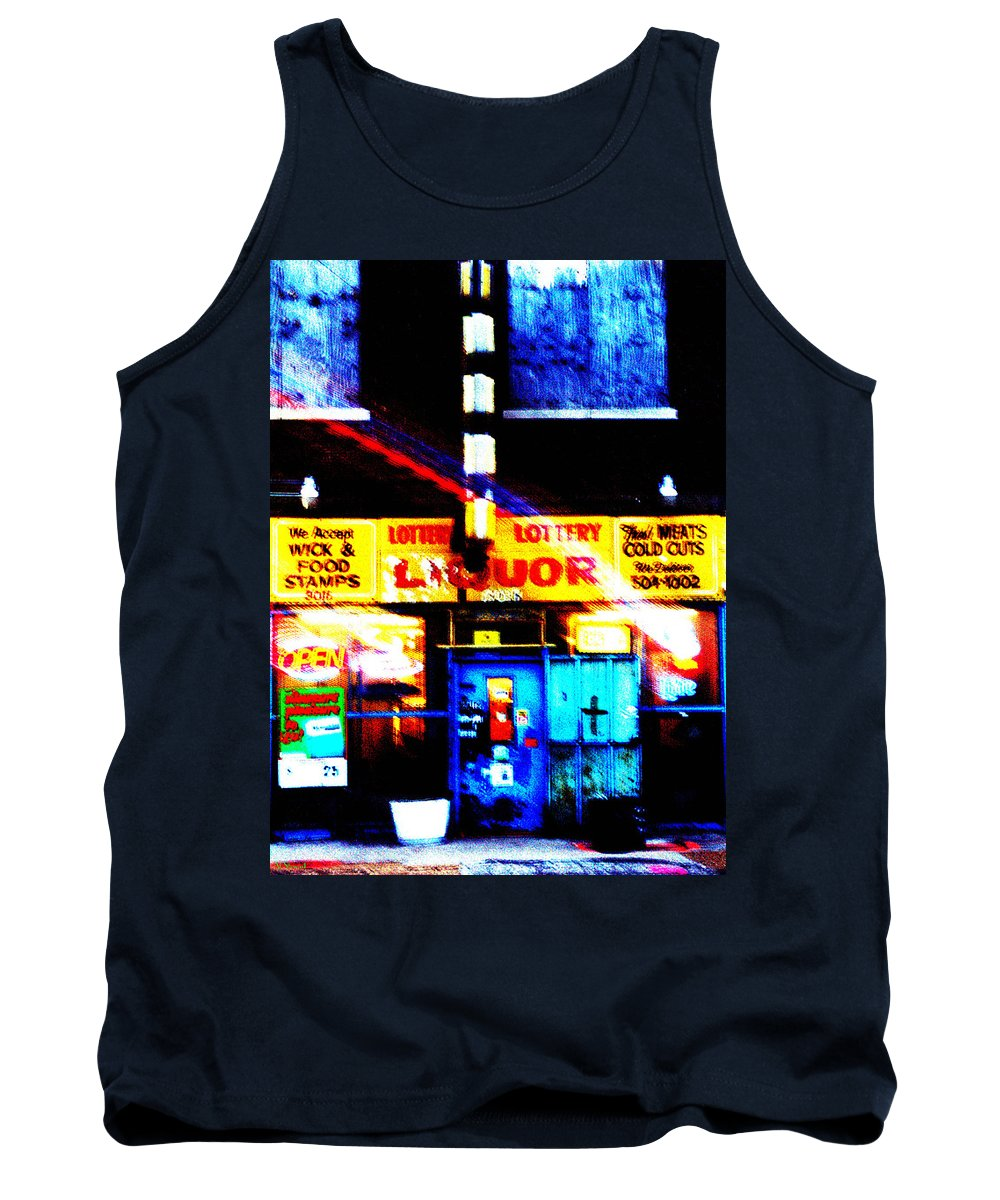 Store Tank Top featuring the photograph Corner Store by Albert Stewart