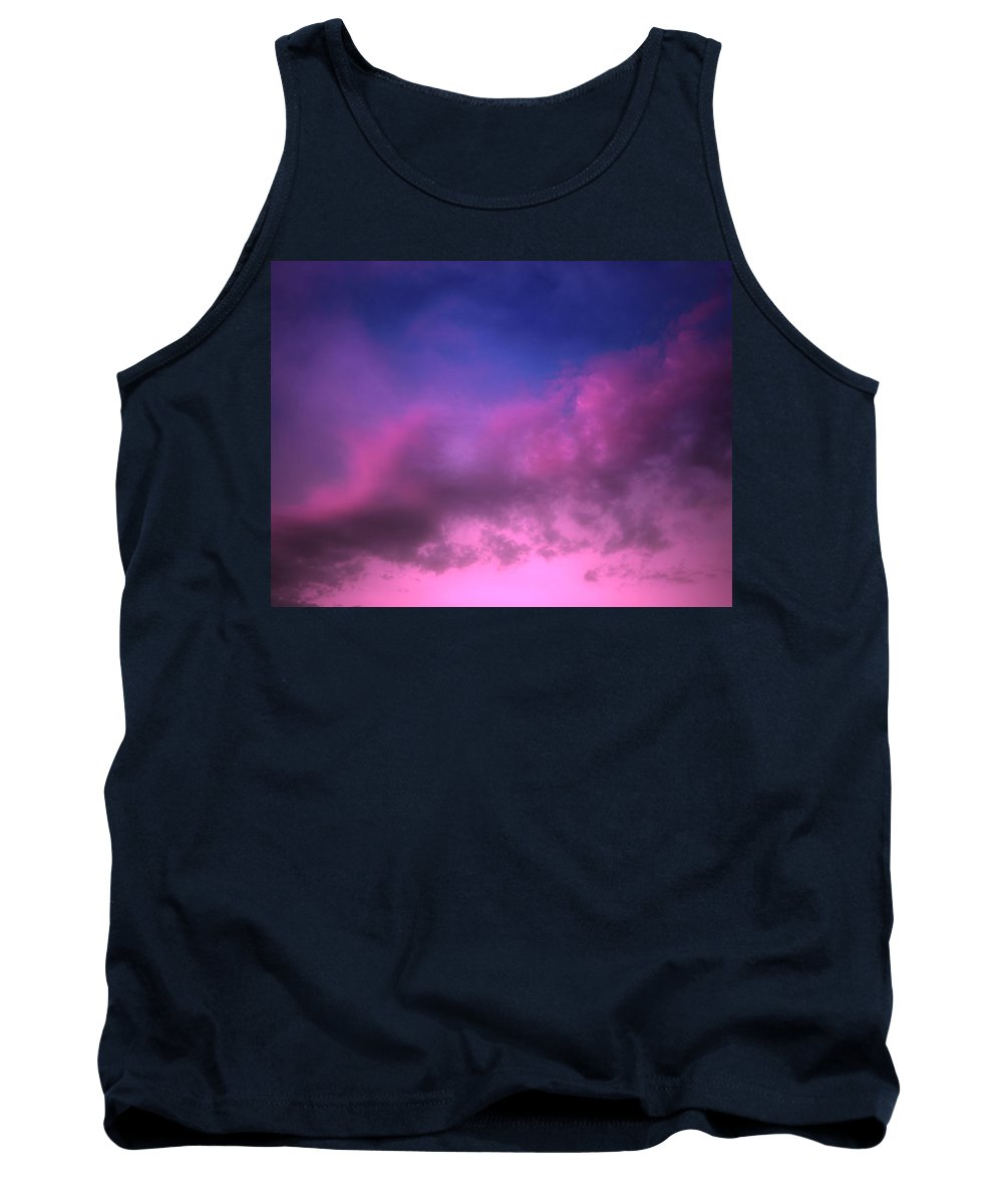 Clouds Tank Top featuring the photograph Purple Haze by Tara Turner