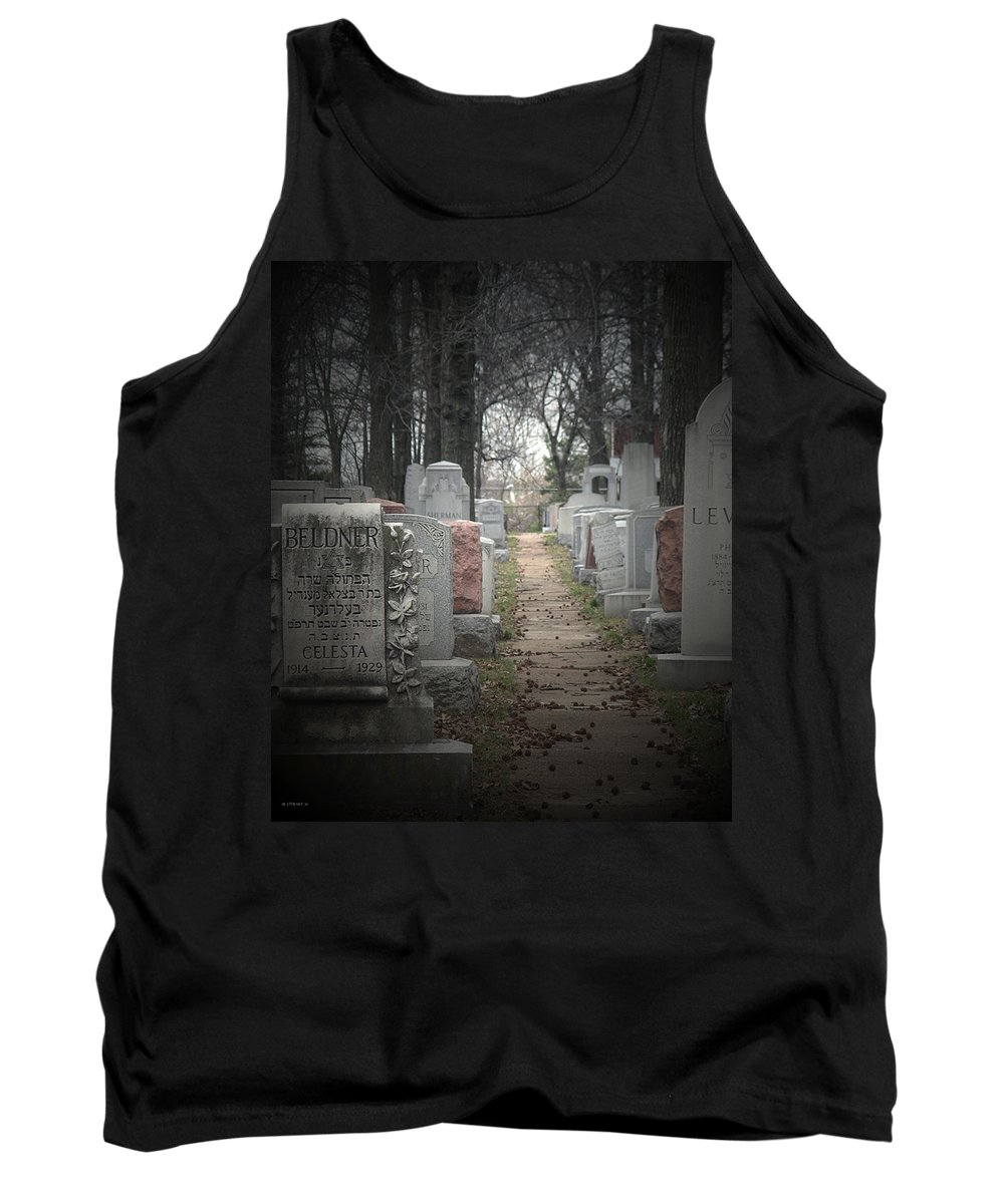 Cemetary Tank Top featuring the photograph Closure by Albert Stewart