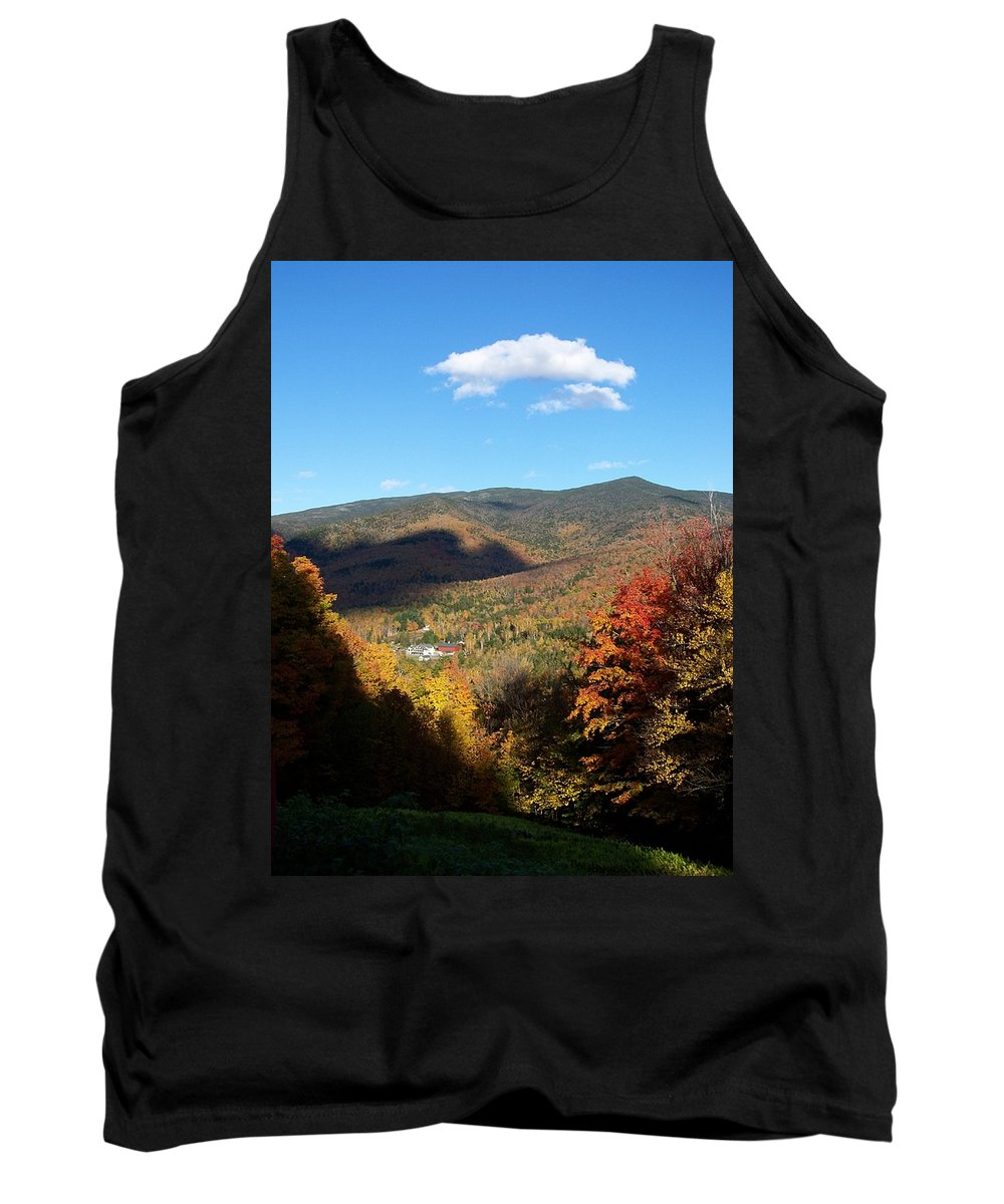 Scenery Tank Top featuring the photograph New Hampshire In The Fall 3 by Erin Rosenblum