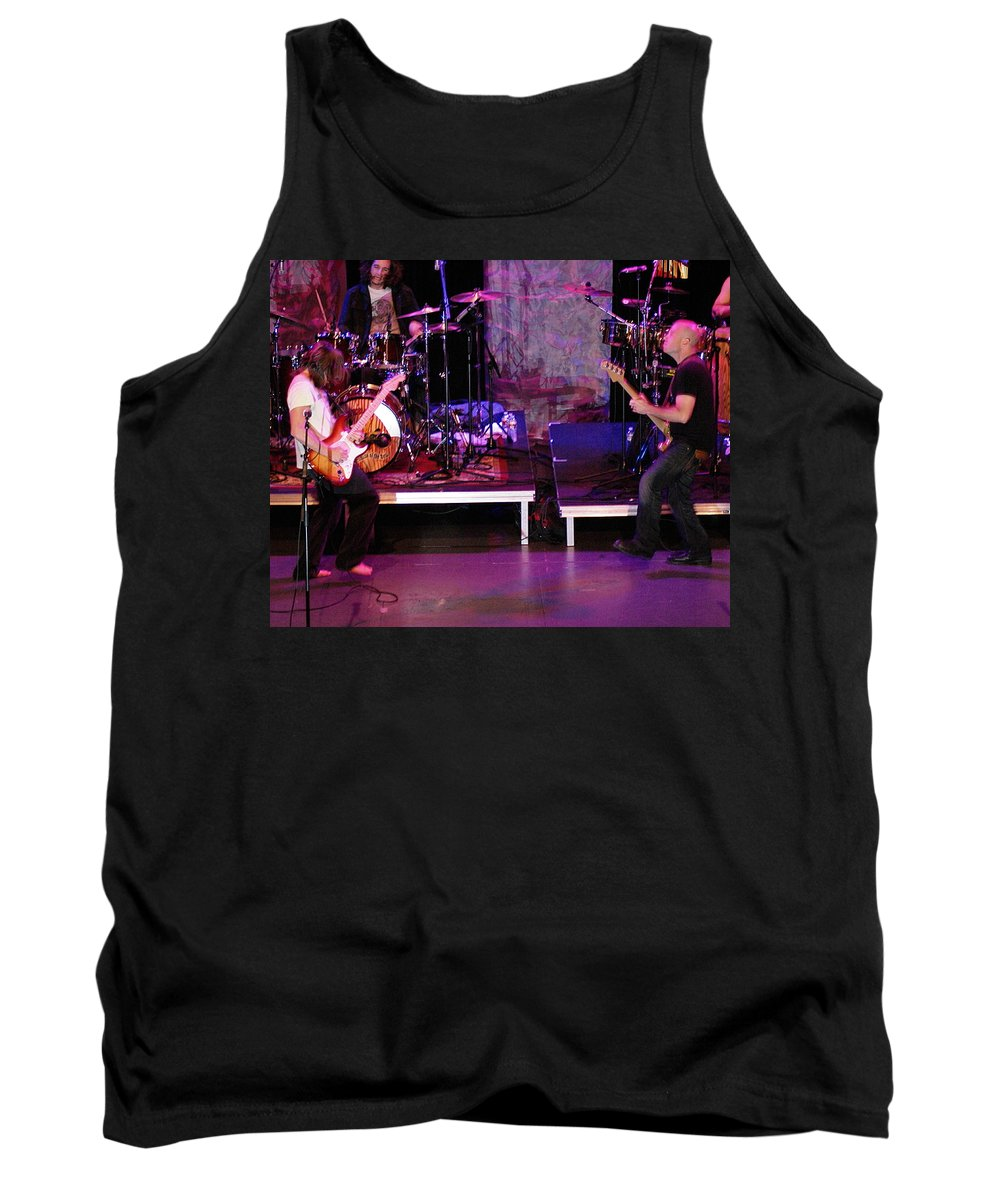 Lukas Nelson Tank Top featuring the photograph Peaceful Rocking Solutions by Ben Upham