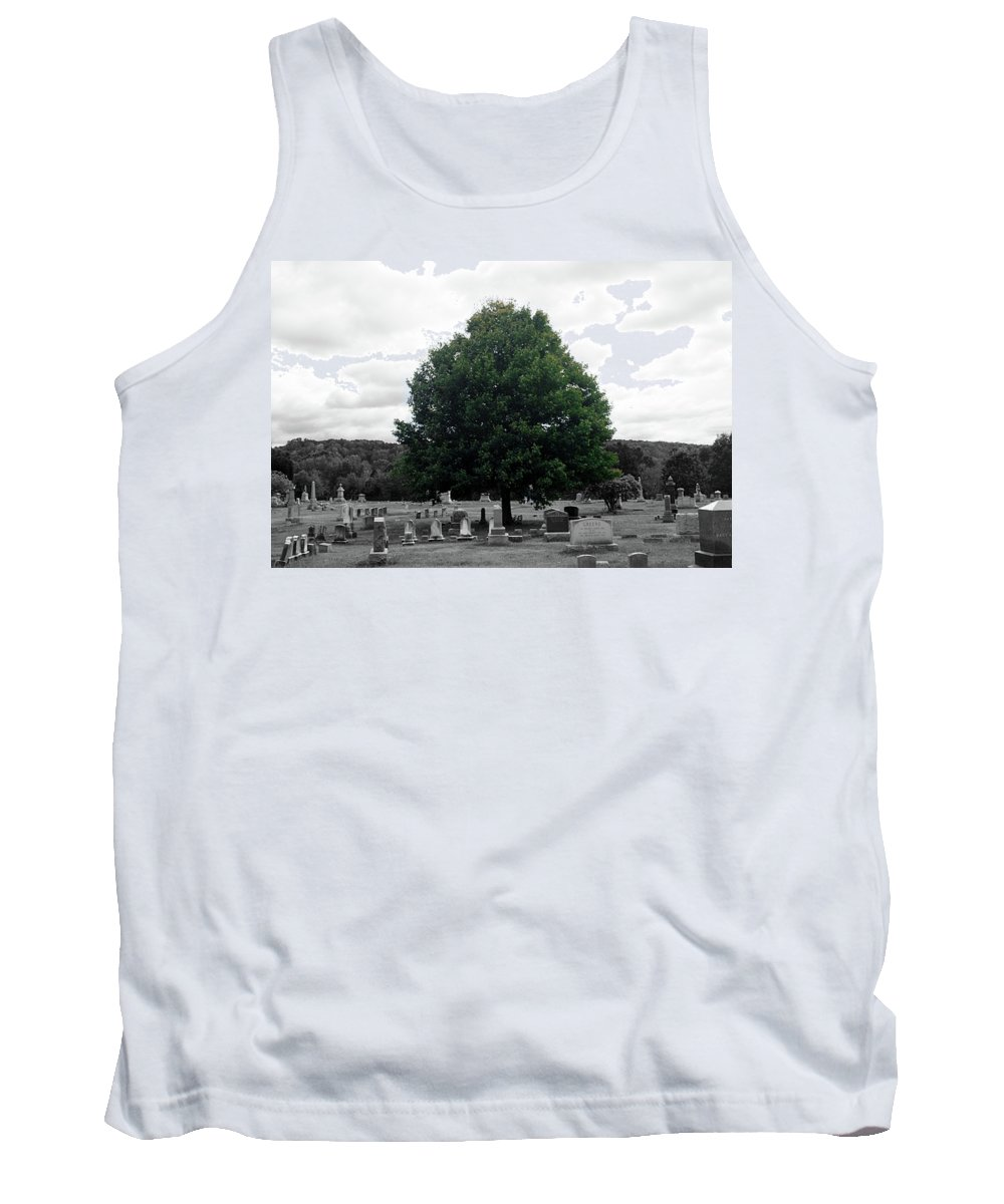 Scenic Tank Top featuring the photograph Life Within by Erin Rosenblum
