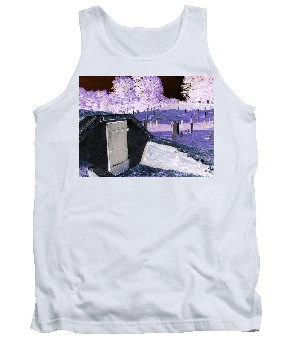 Scenic Tank Top featuring the photograph Purple Peace by Erin Rosenblum