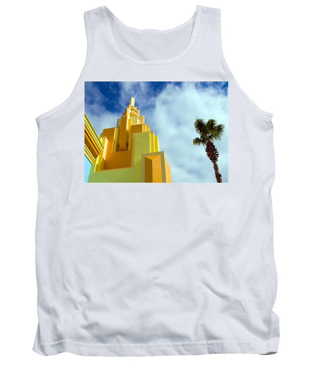 Cocoa; Beach; Florida; Brevard; East; Space; Coast; Ron; Jon; Surf; Shop; Surfing; Surfer; Waves; Br Tank Top featuring the photograph Ron Jon Cocoa Beach Florida by Allan Hughes