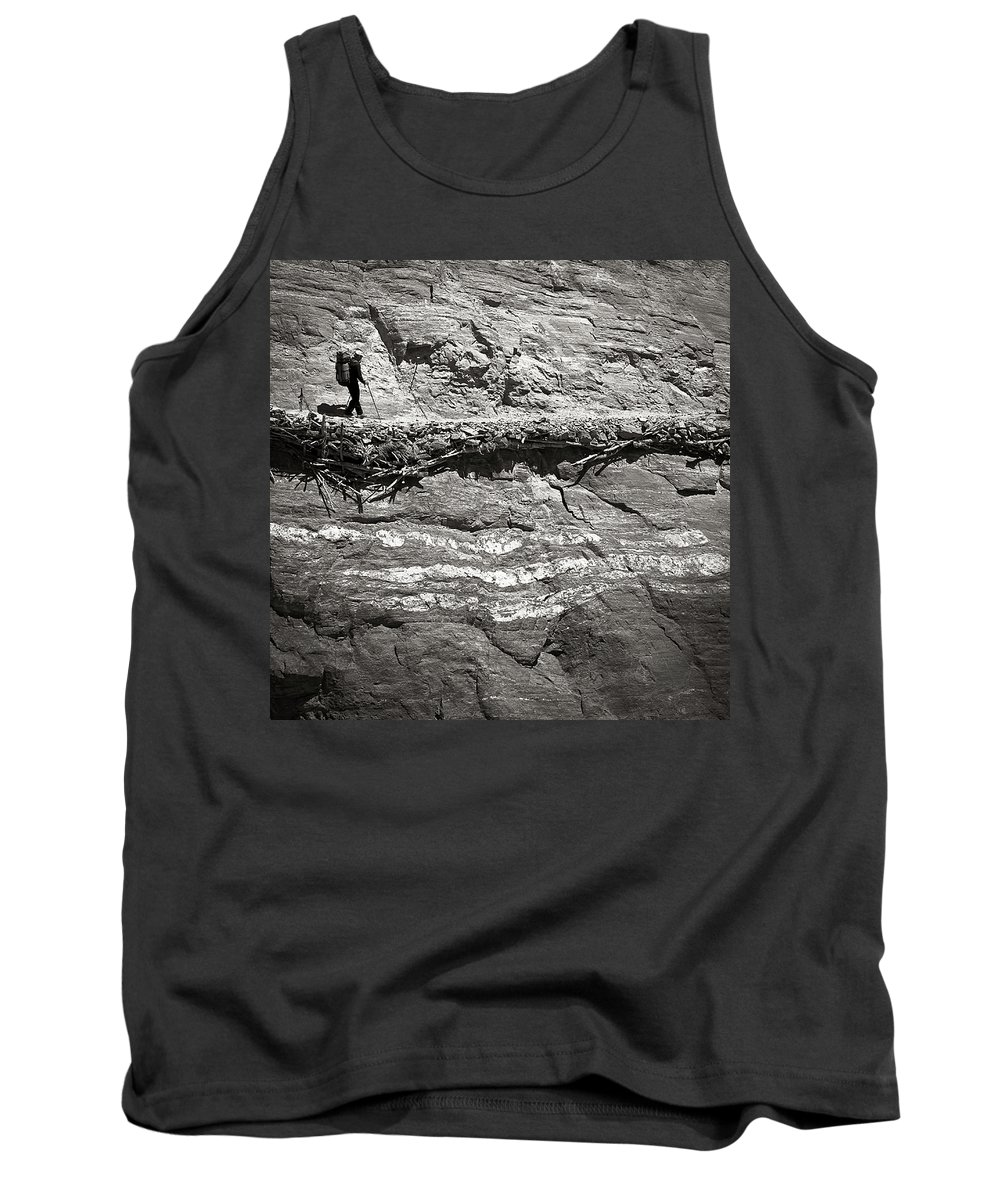 Alone Tank Top featuring the photograph The Path by Konstantin Dikovsky