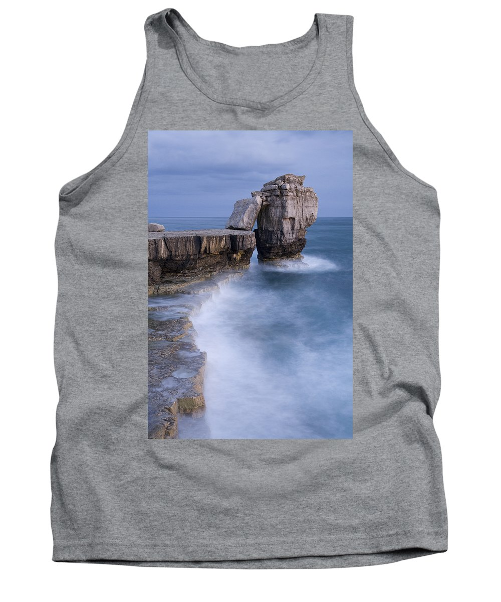 Attraction Tank Top featuring the photograph Dorset Seascape by Ian Middleton