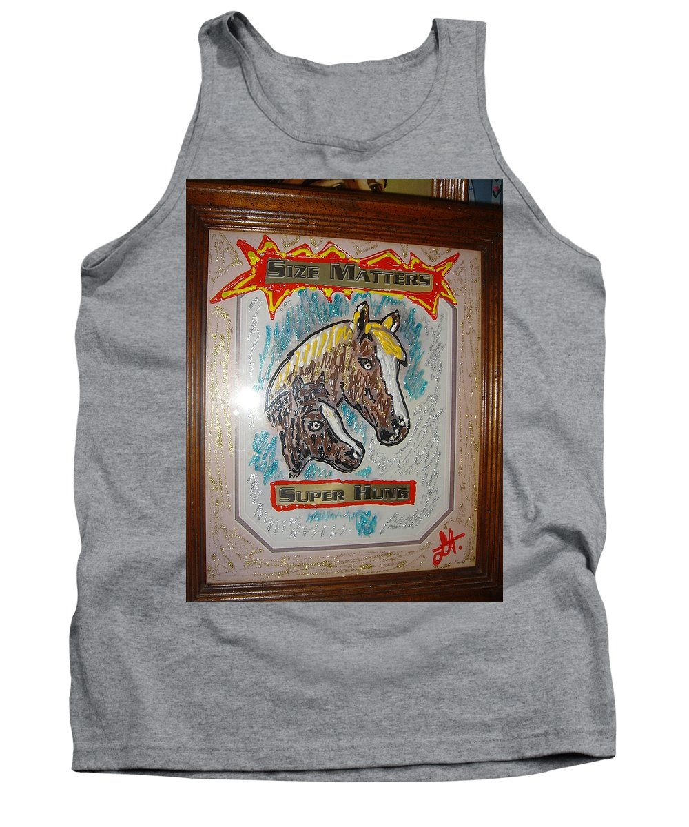 Horses Tank Top featuring the painting Horses by Lisa Piper