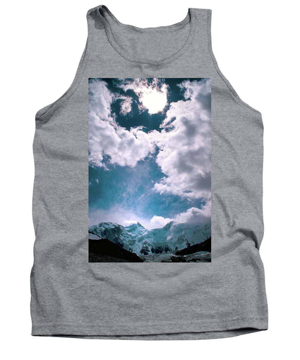 Alone Tank Top featuring the photograph Sacred Belukha by Konstantin Dikovsky