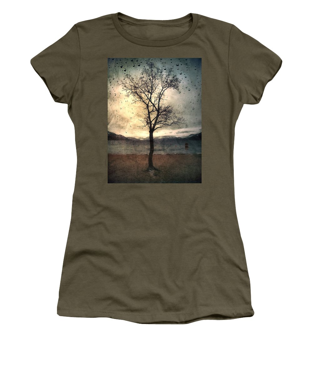 Rain Women's T-Shirt featuring the photograph January 12 2010 by Tara Turner