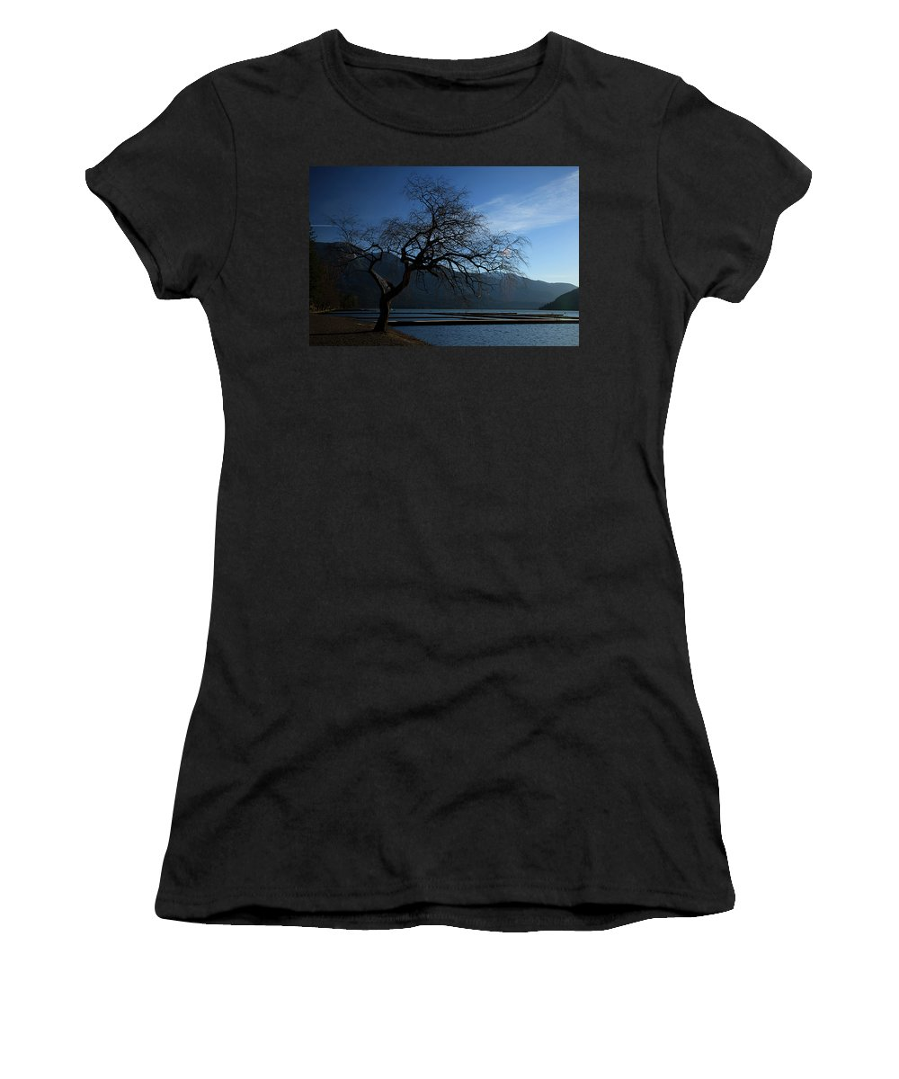 Cultis Women's T-Shirt (Athletic Fit) featuring the photograph Cultus Tree by Monte Arnold
