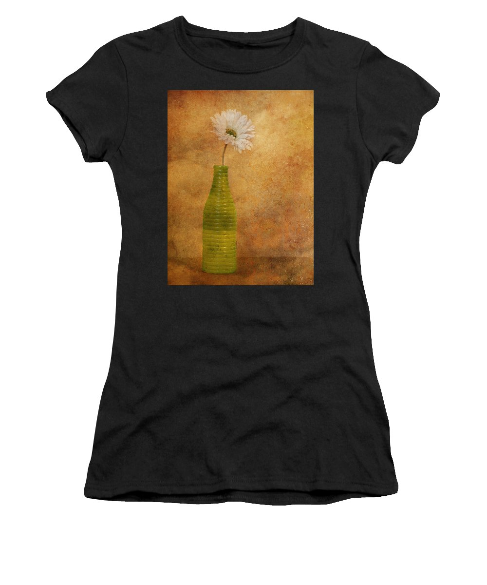 Flower Women's T-Shirt (Athletic Fit) featuring the photograph February 10 2010 by Tara Turner