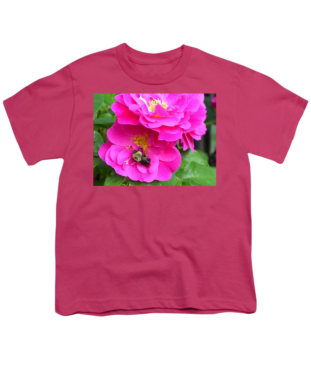 Charity Youth T-Shirt featuring the photograph Jc And Bee by Mary-Lee Sanders