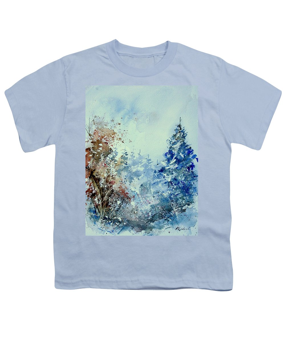 Tree Youth T-Shirt featuring the painting Watercolor 010307 by Pol Ledent