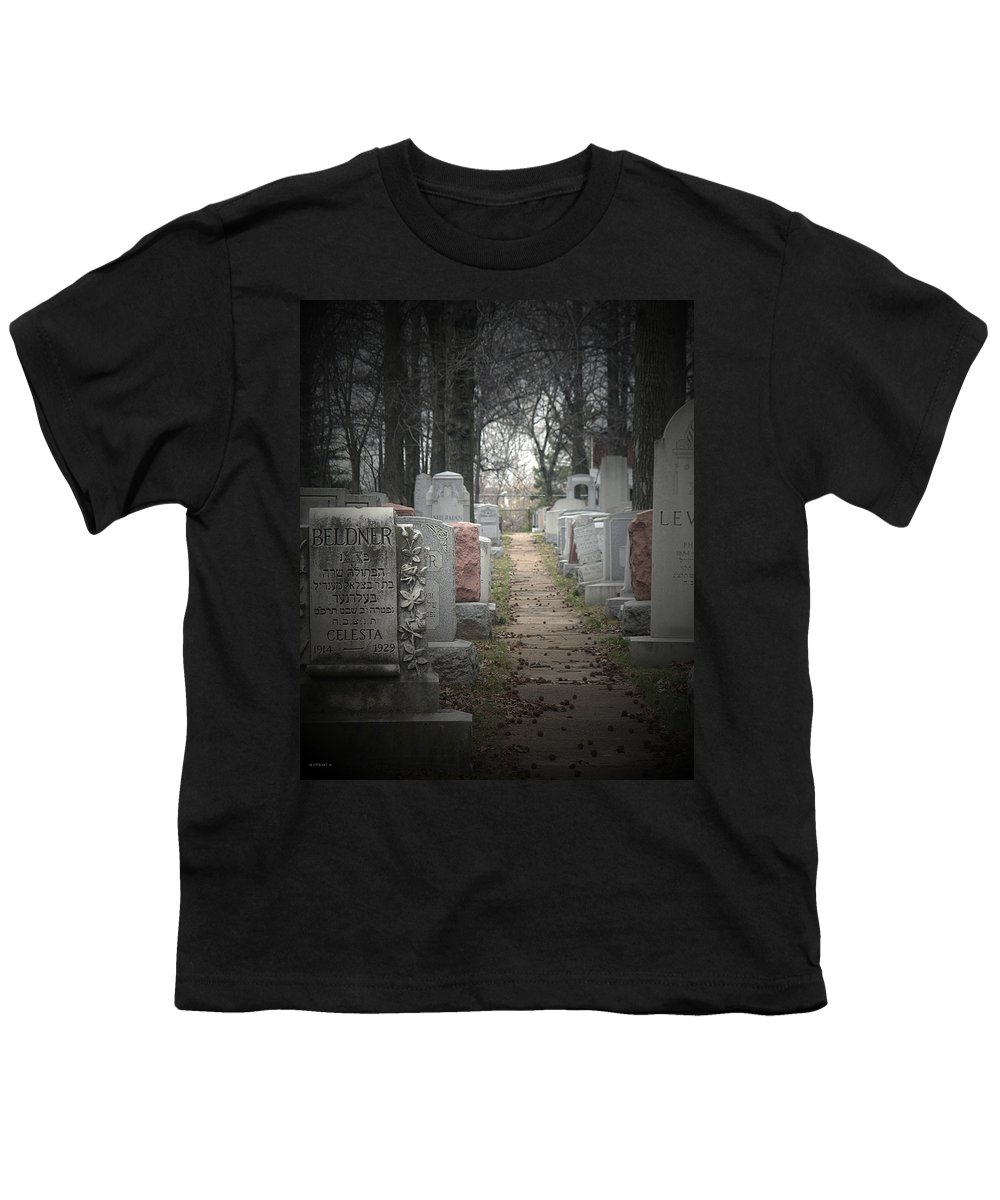 Cemetary Youth T-Shirt featuring the photograph Closure by Albert Stewart