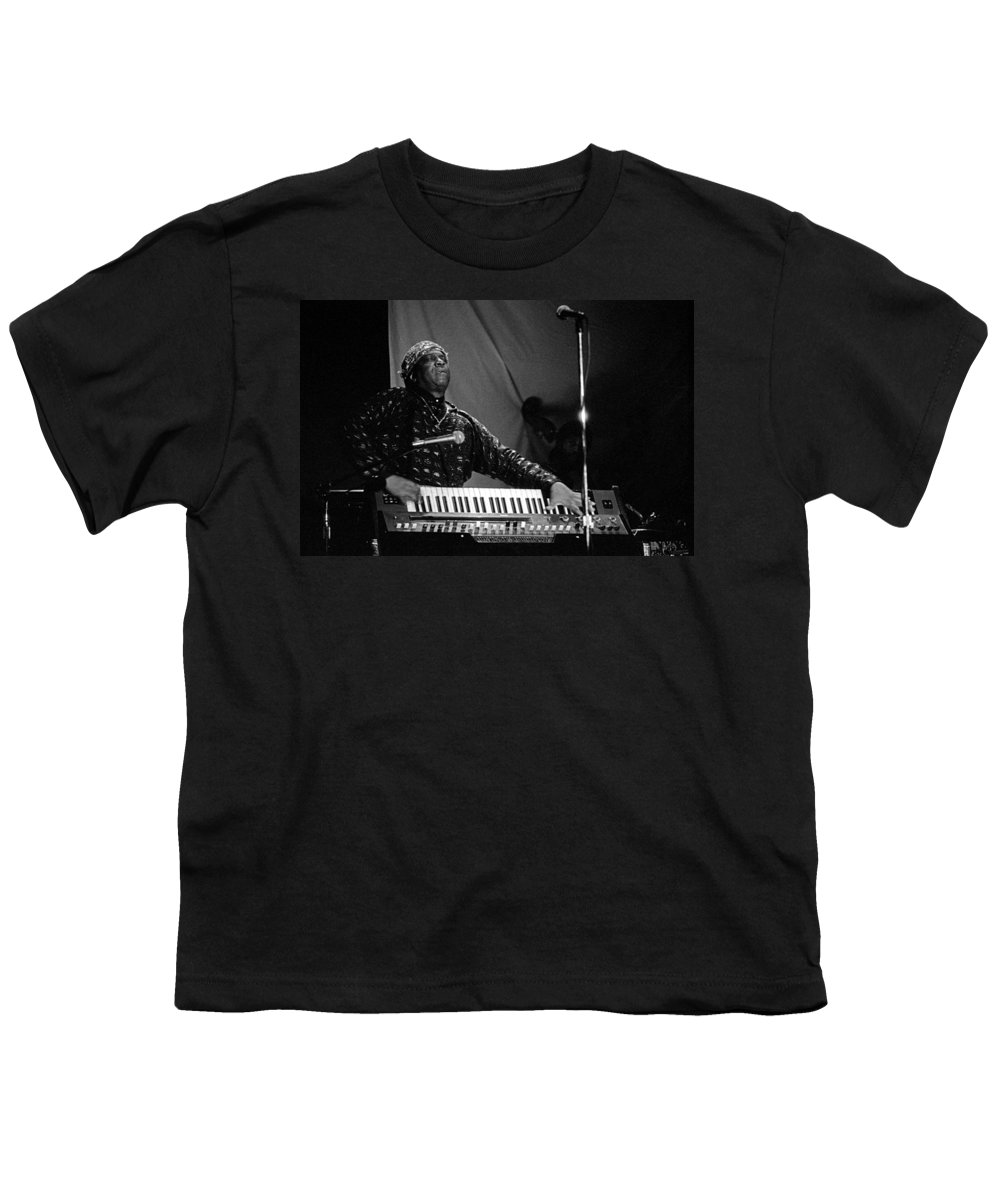 Sun Ra Youth T-Shirt featuring the photograph Sun Ra 1 by Lee Santa