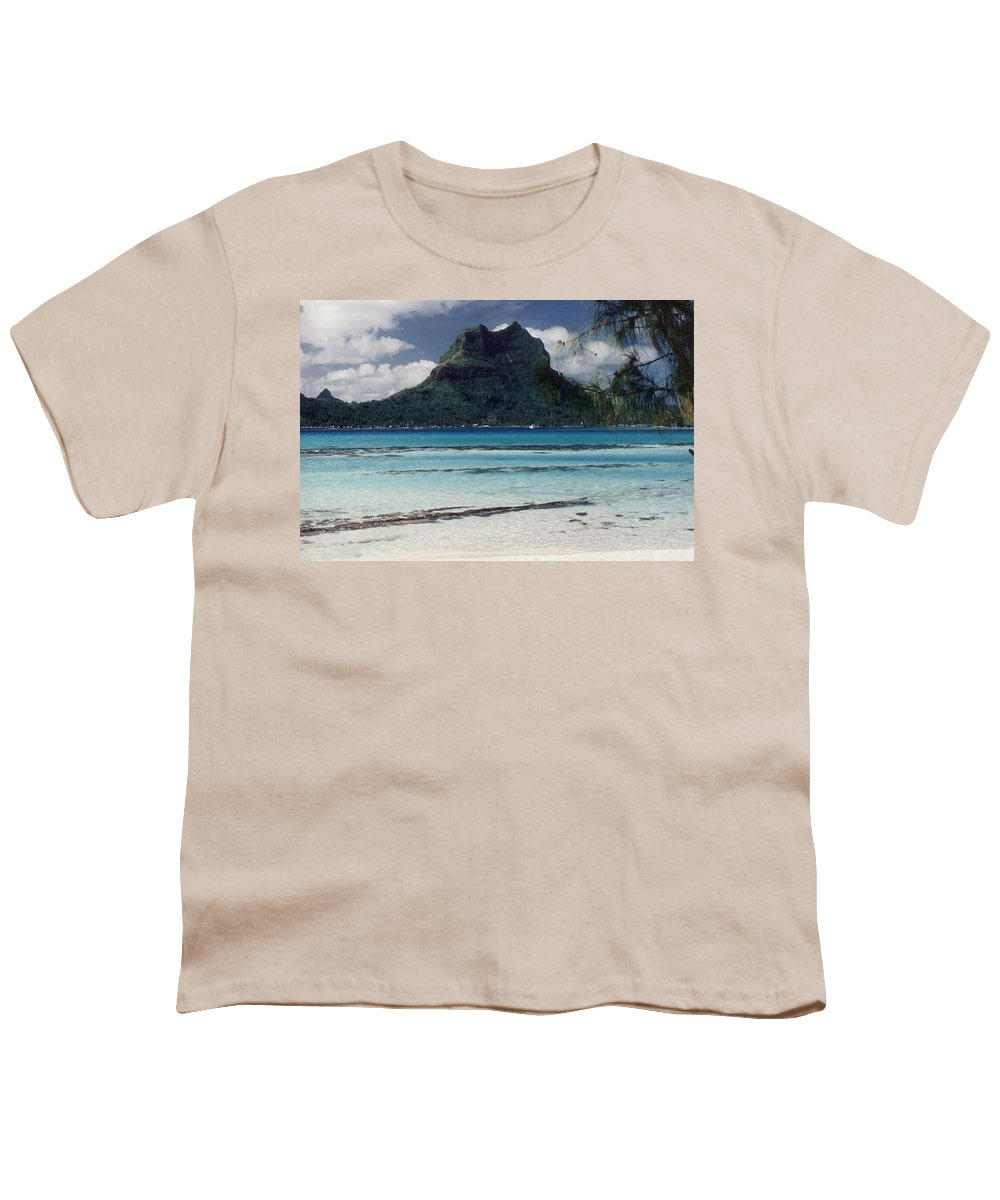 Charity Youth T-Shirt featuring the photograph Bora Bora by Mary-Lee Sanders