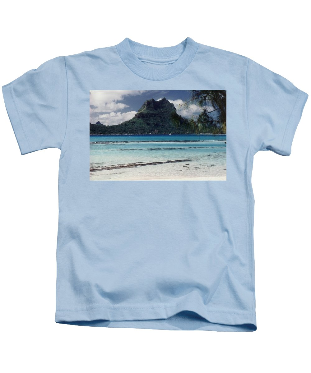 Charity Kids T-Shirt featuring the photograph Bora Bora by Mary-Lee Sanders