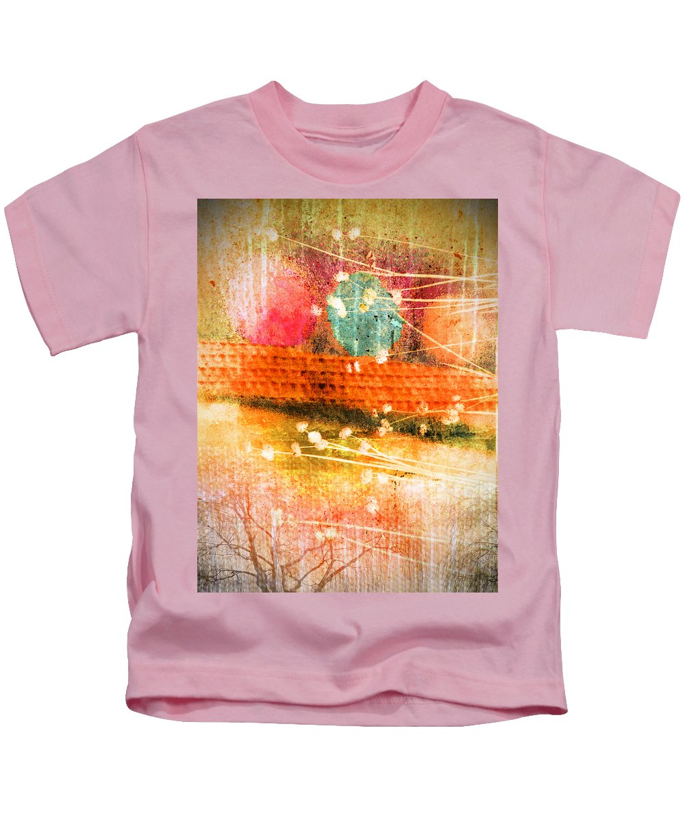 Branches Kids T-Shirt featuring the photograph Branches And Brush Strokes by Tara Turner