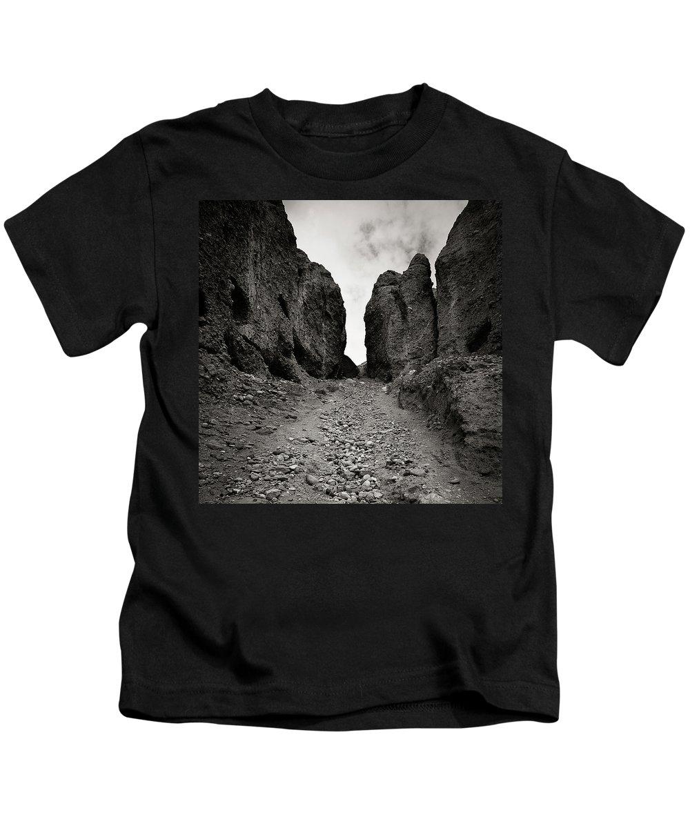 Active Kids T-Shirt featuring the photograph Buddhist Caves. Vrang by Konstantin Dikovsky