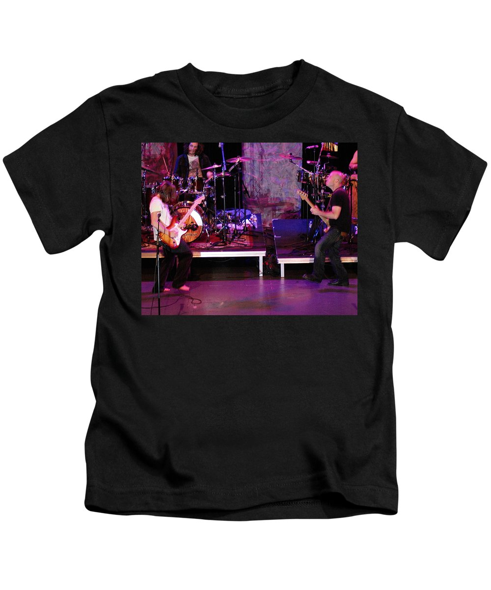 Lukas Nelson Kids T-Shirt featuring the photograph Peaceful Rocking Solutions by Ben Upham