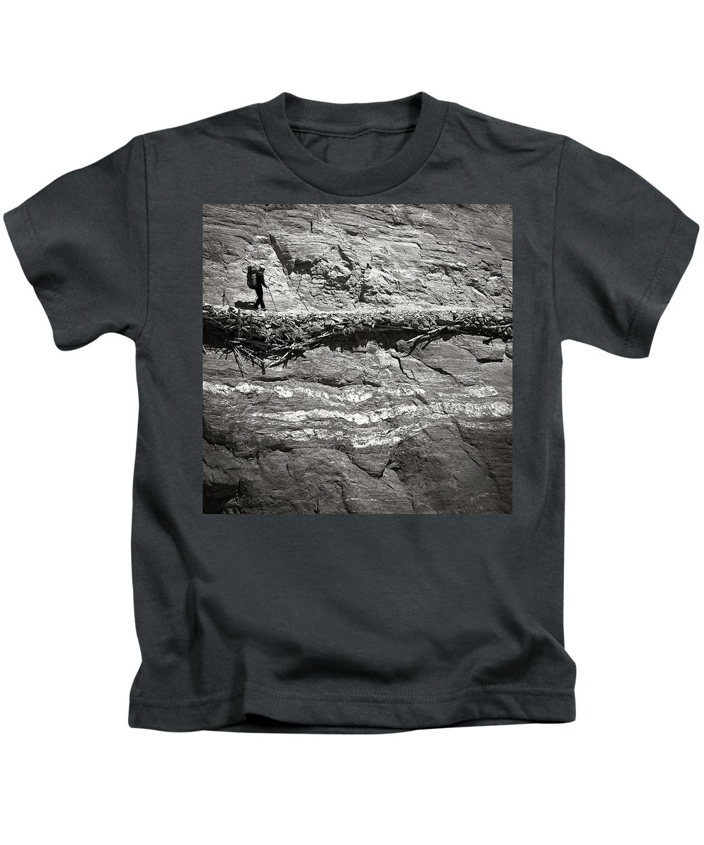 Alone Kids T-Shirt featuring the photograph The Path by Konstantin Dikovsky